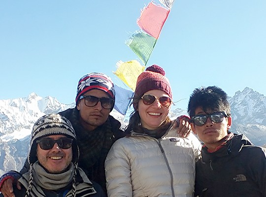 Joint Treks Of Langtang And Poon Hill