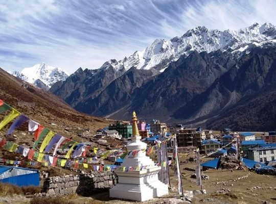 Langtang valley View Trekking with Tserko Ri