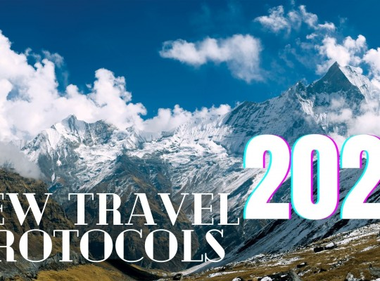 Updated travel protocols for travelers coming to Nepal