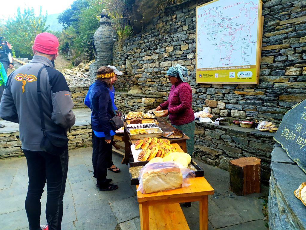 Have a tasty bite of these local breads, Manaslu Trekking Information