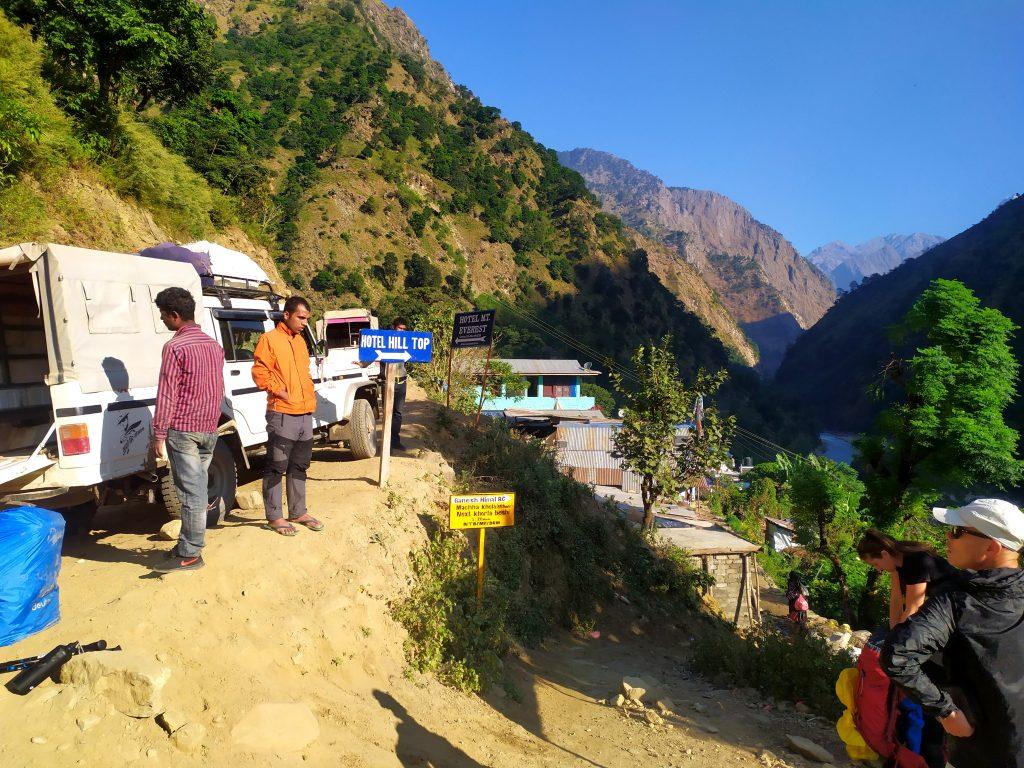 Vehicles to Manaslu, Manaslu Trekking Information