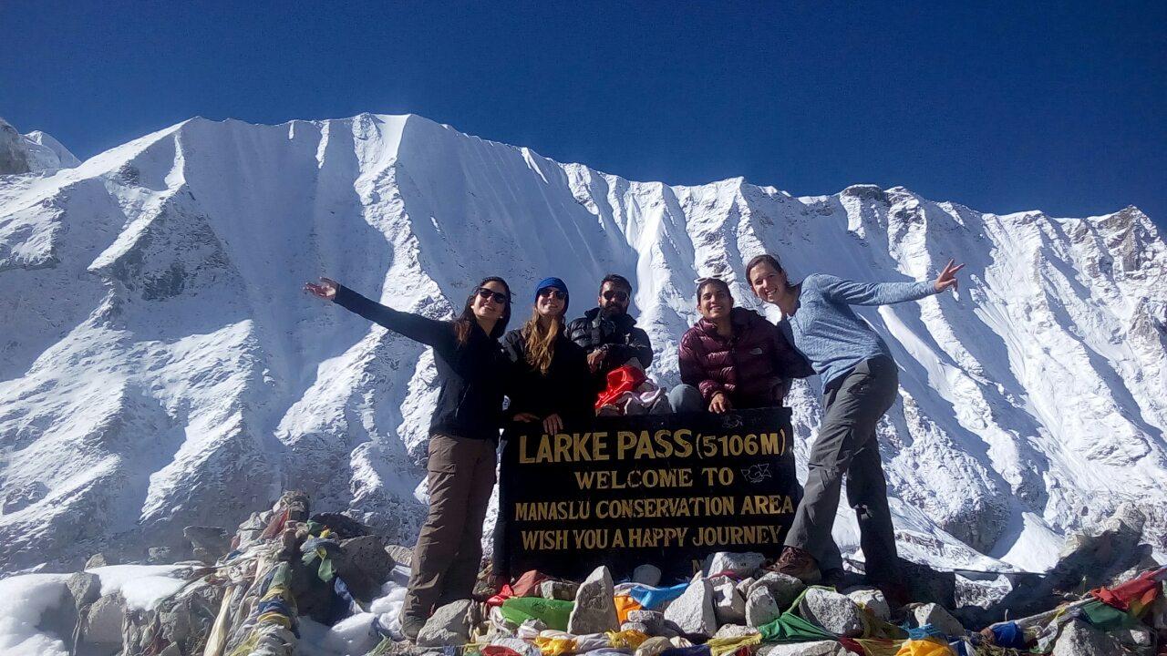 Manaslu Trekking Larke Pass