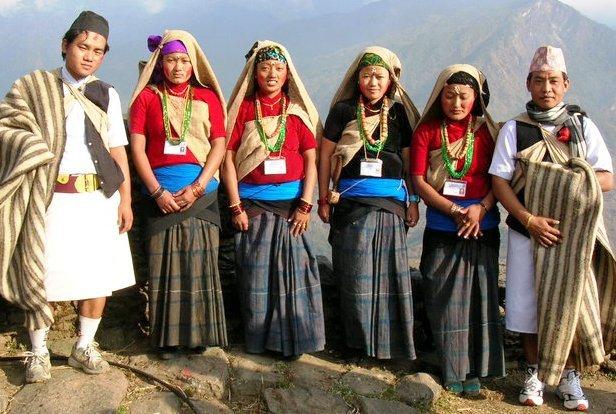 gurung-people-dress