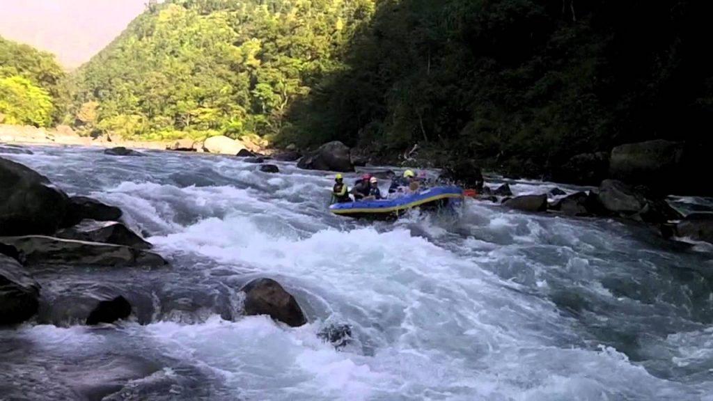 Bhotekoshi river