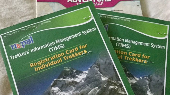 TIMS for Individual Trekkers