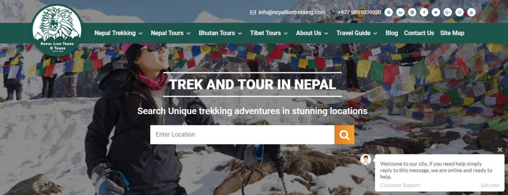 Nepal Lion Trekking